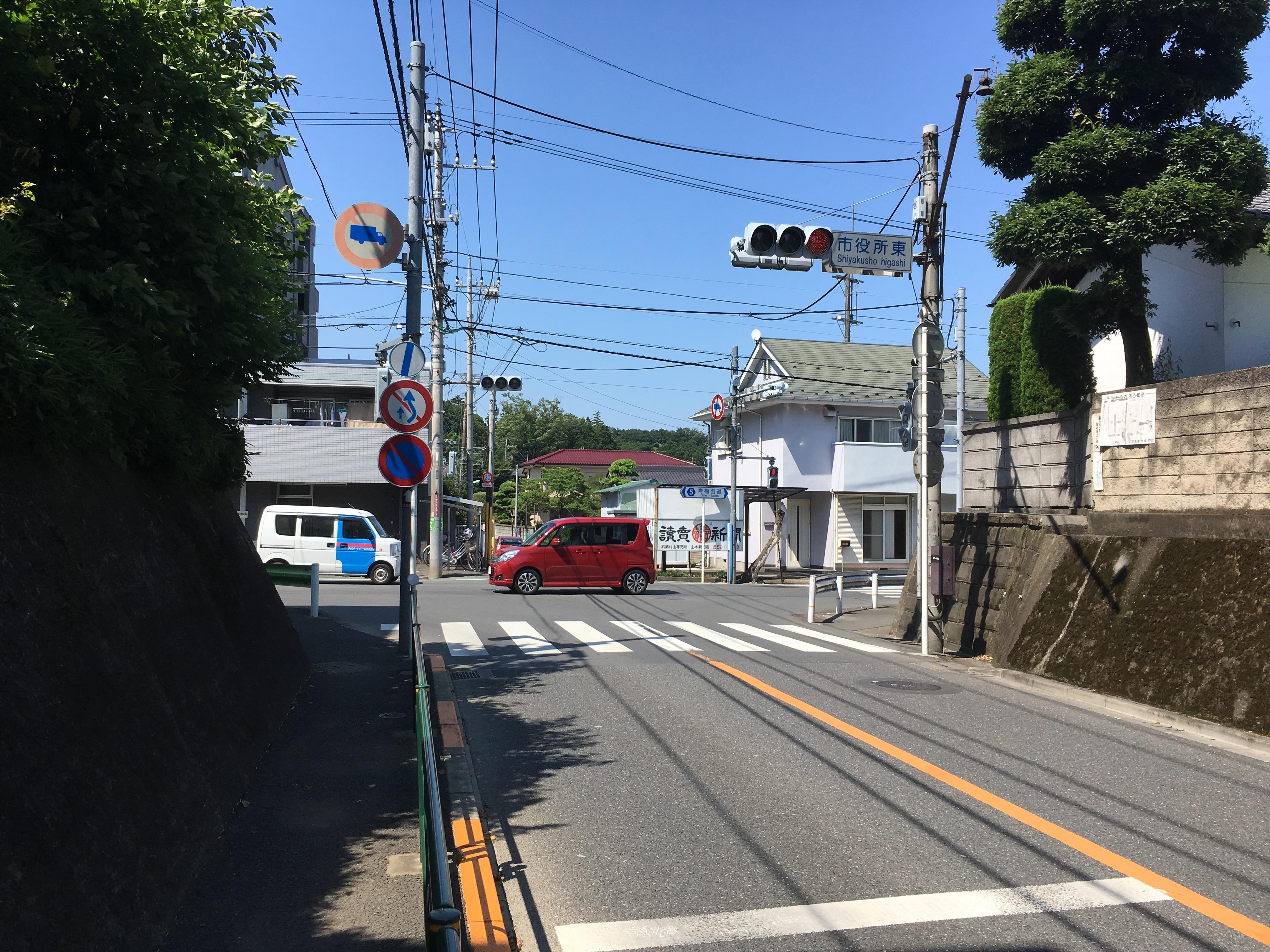 市役所東交差点の信号機改良を要望〜6月の一般質問〜