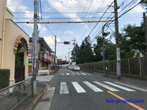 旧日産通り(都道55号)大南付近の冠水被害軽減へ